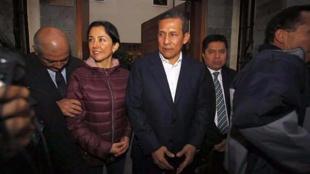 Abogados presentan apelación para sacar de prisión a Humala y esposa