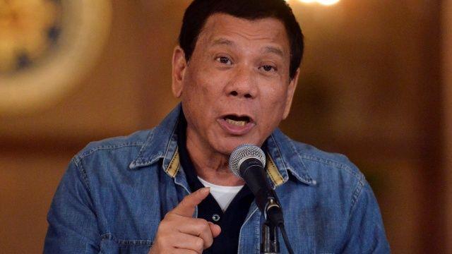 Presidente filipino pide a EEUU que restituya tres campanas de iglesia