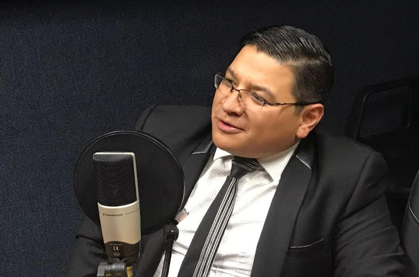 """Samuel López: """"Dentro de la economía todo deja rastro. Y ese es el que se investiga"""""""