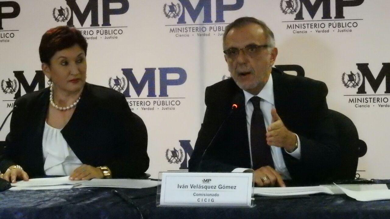 Comisionado ACNUDH apoyo a la CICIG y MP