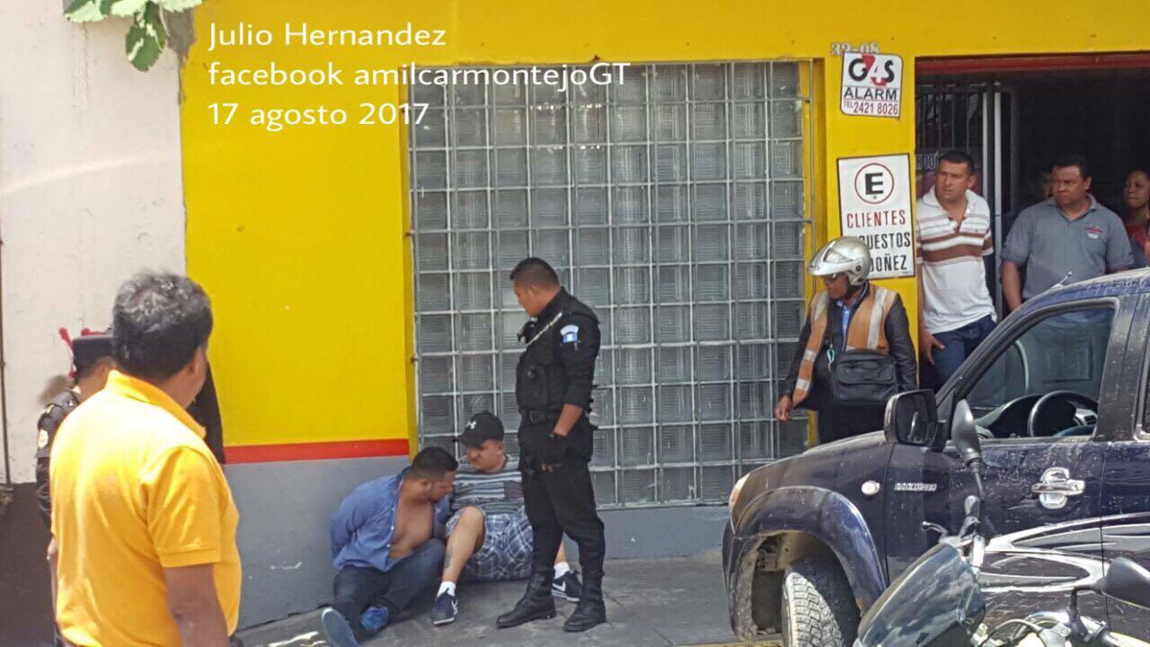 Capturados con armas y drogas