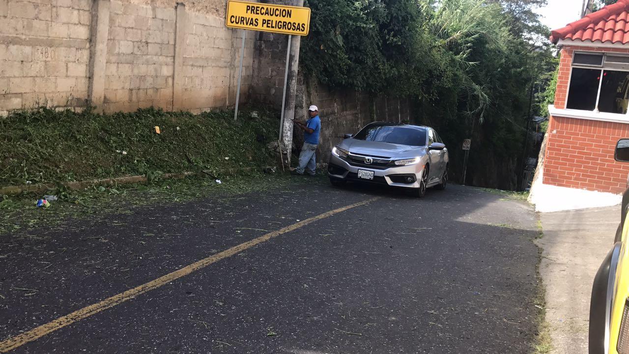 Ruta del Cambray por cierre Boca del Monte