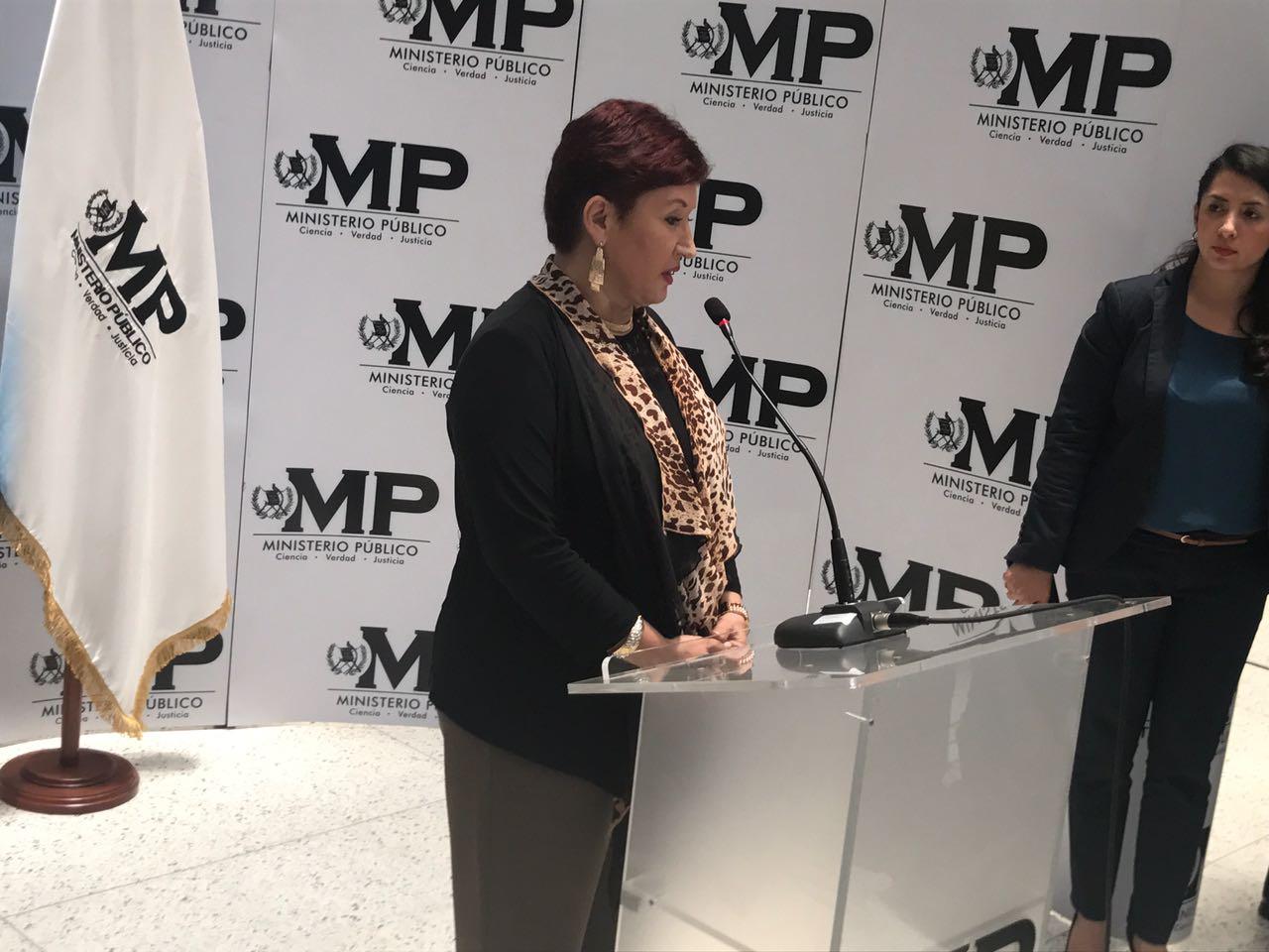 Fiscal Thelma Aldana se refiere a la continuidad del trabajo del comisionado Iván Velásquez