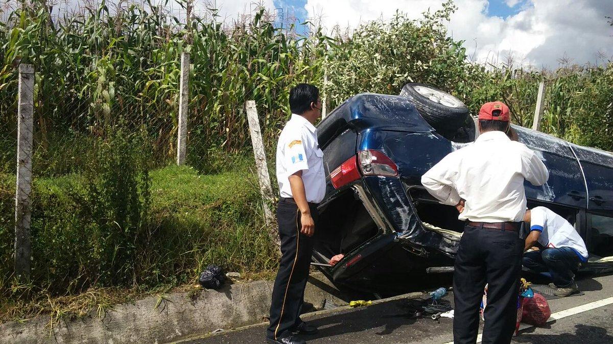 Accidente en Salcajá