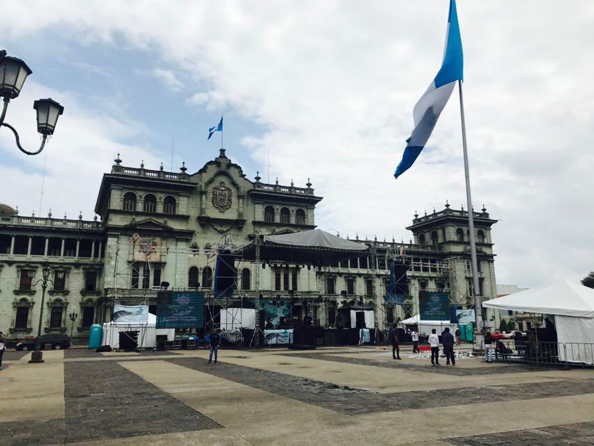 Manifestaciones en la Plaza de la Constitución