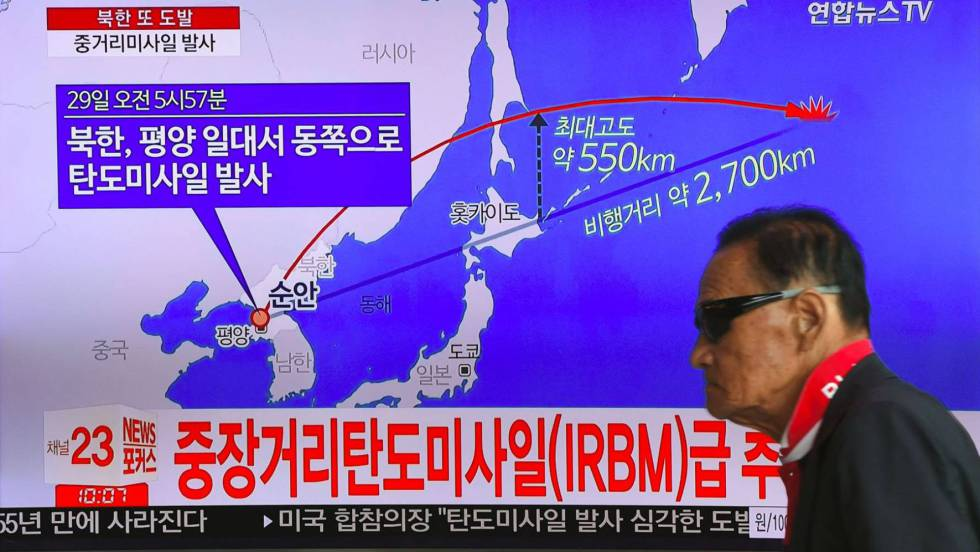 """Embajador norcoreano en la ONU alega """"derecho a la autodefensa"""" tras disparo de misil"""