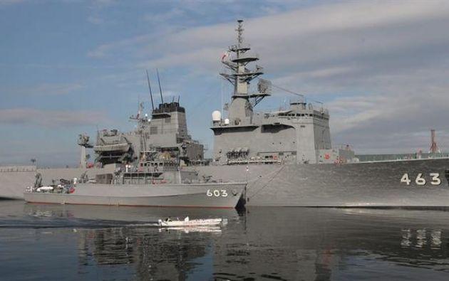 Japón expulsó a centenares de barcos de pesca norcoreaos