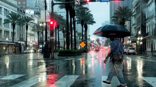 La tormenta Harvey llega a Luisiana