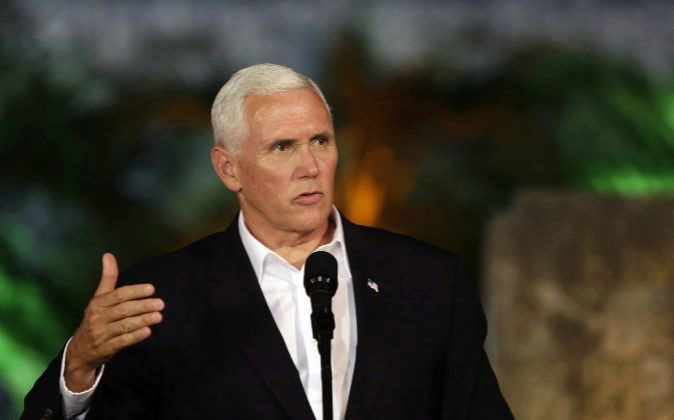 """Mike Pence ve en Venezuela """"estado fallido"""" que amenaza """"seguridad y prosperidad"""""""