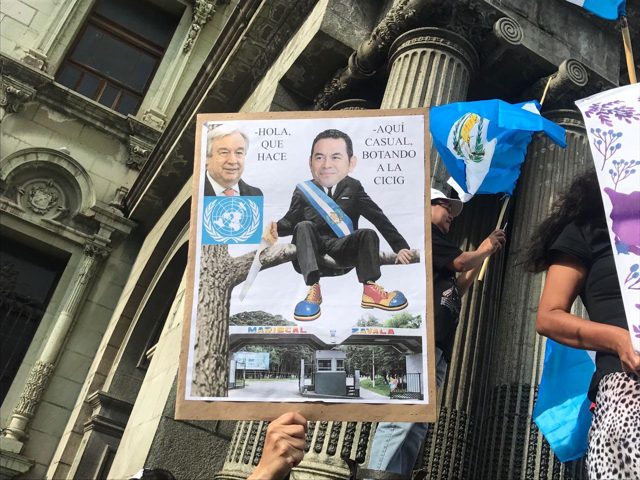 Fotogalería: guatemaltecos protestan, de nuevo, contra la corrupción