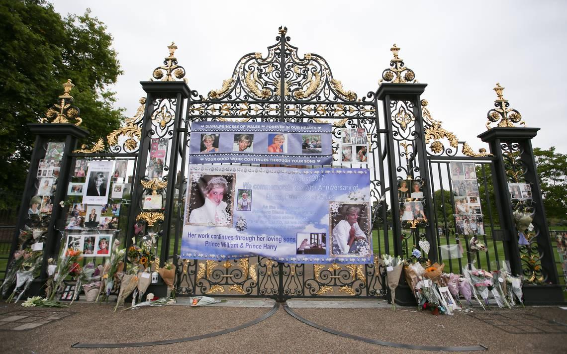 Reino Unido rinde un sobrio homenaje a la princesa Diana