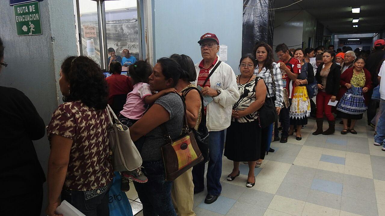 Atención y visitas en hospital San Juan de Dios