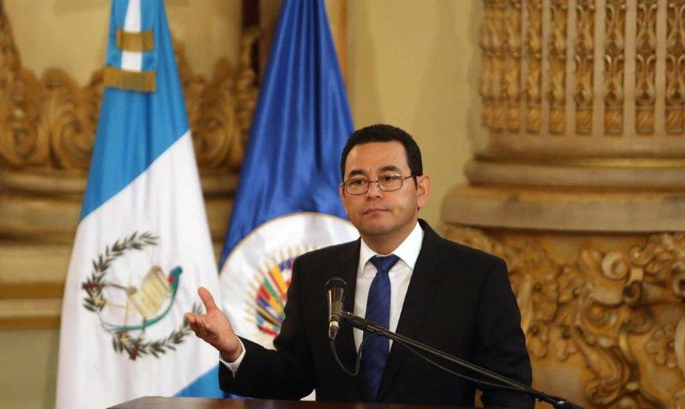 """Presidente Jimmy Morales confía en la """"objetividad de la justicia"""""""