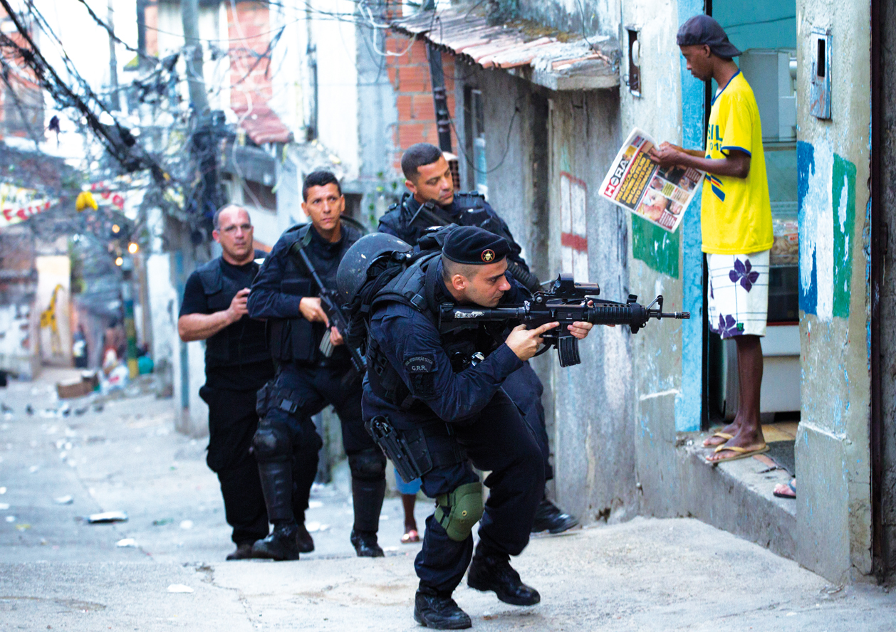 Rio registra 100 policías muertos en 2017