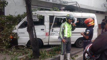 accidente de microbús
