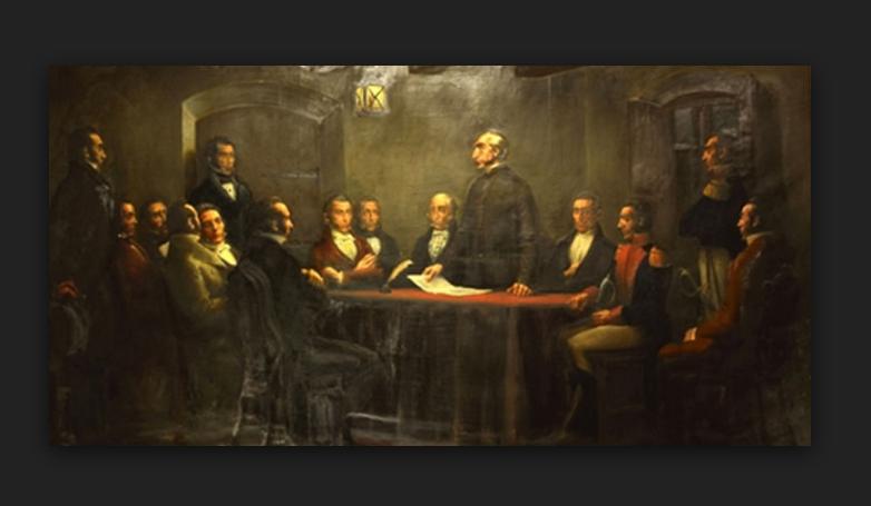 Gabino Gainza, el hombre que convocó para la declaratoria de independencia