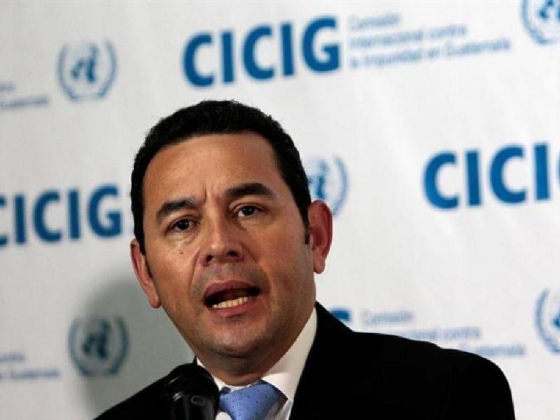"""Con la votación del Congreso, """"se demuestra la madurez democrática"""", señala presidente Jimmy Morales"""