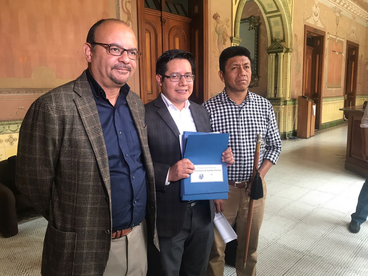 Acción Ciudadana presenta al TSE propuestas para incluirse en reformas electorales