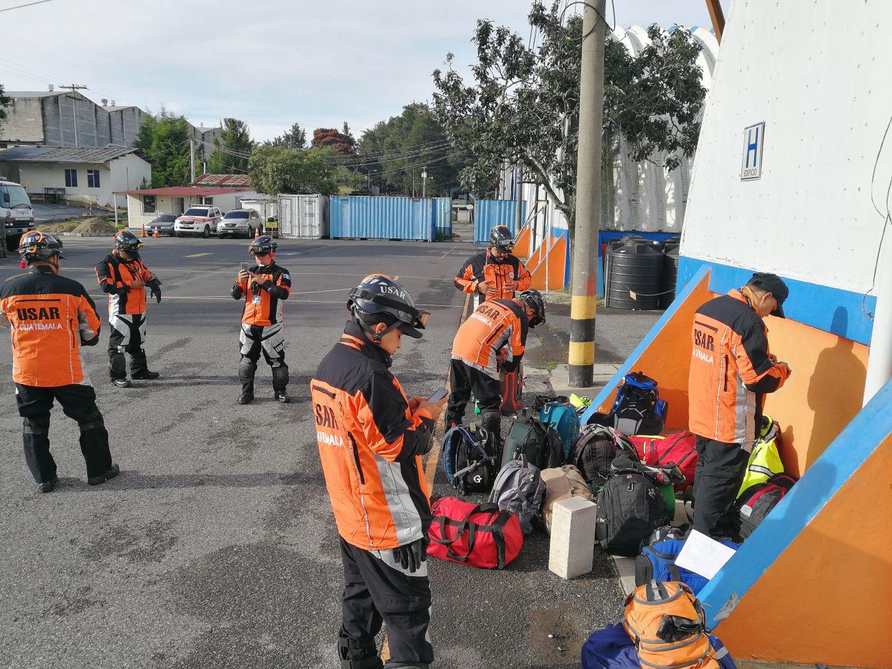 Equipo de Búsqueda y Rescate de Guatemala apoyará a México tras terrremoto