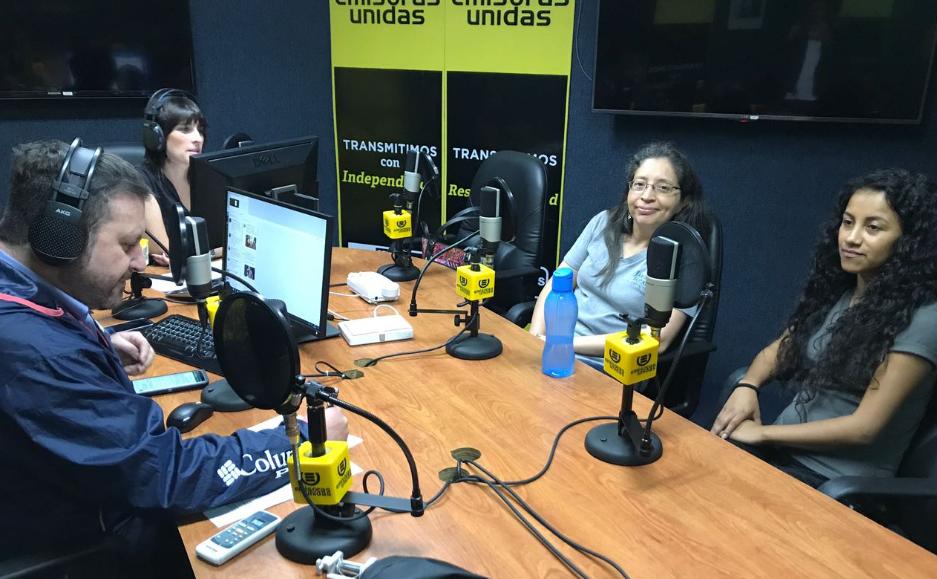 """María José Hernández: """"La Ceiba coloniza sitios y es útil para reforestar"""""""