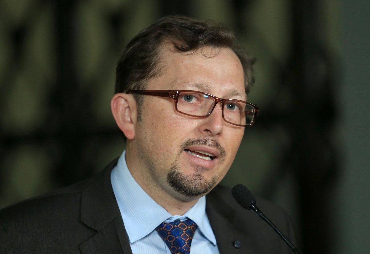 Heinz Hiemann, vocero del Presidente