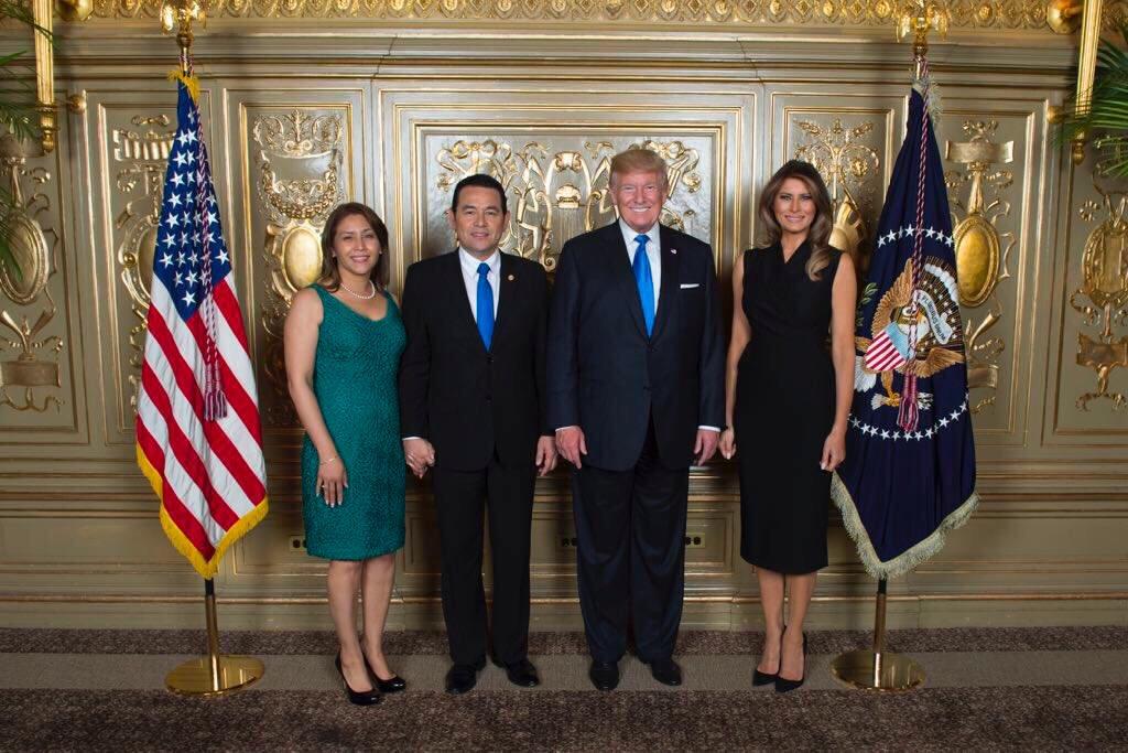 Presidentes de Guatemala y EE.UU. sostuvieron reunión breve, confirma vocero Heinz Hiemann