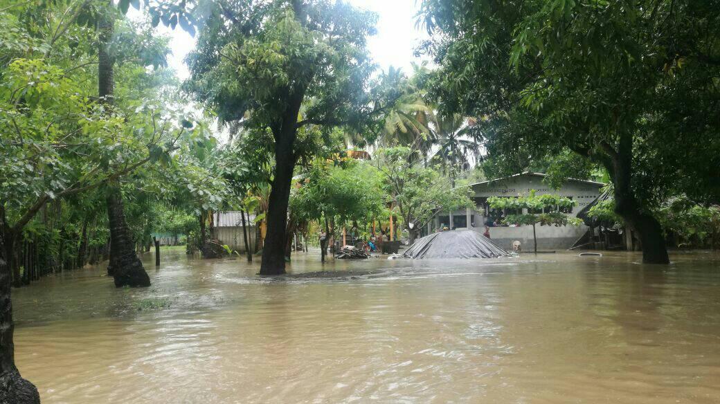 Inundaciones en Nueva Concepción