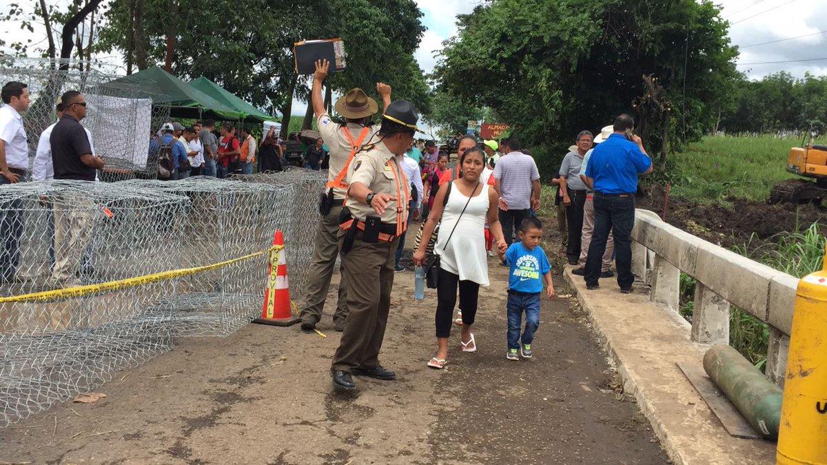 Suchitepéquez: en 10 días estará habilitado paso por puente dañado en Cuyotenango