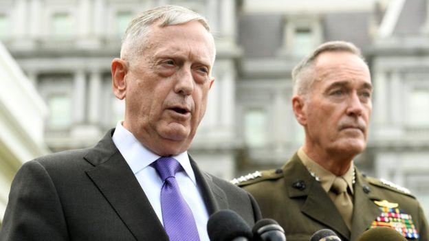 """EEUU lanzará """"masiva respuesta militar"""" en caso de amenaza de Corea del Norte"""