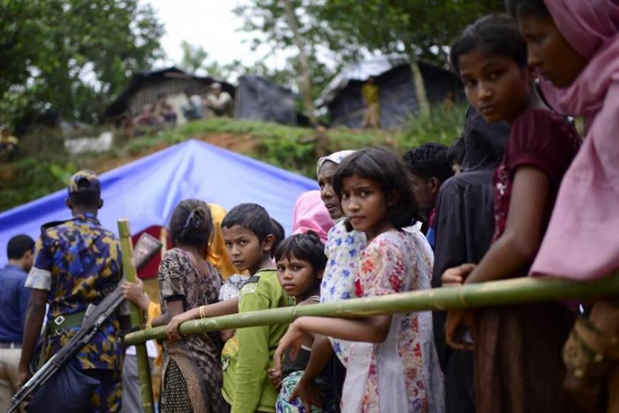 La OMS teme una epidemia de cólera en campamentos rohinyás de Bangladés