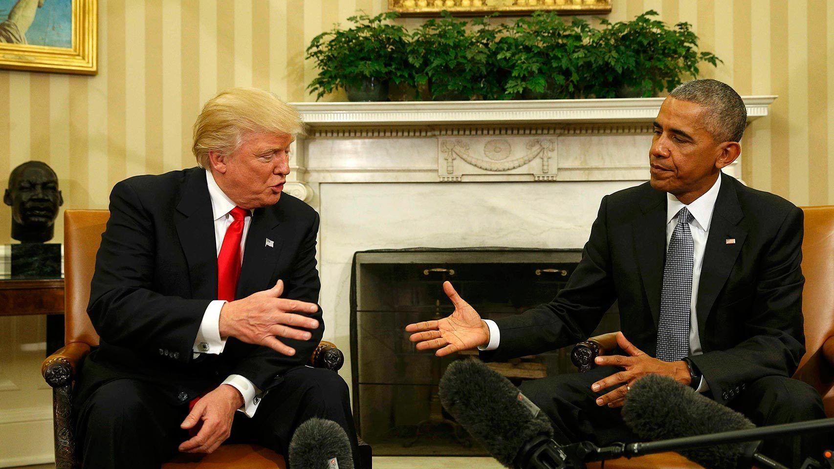 La carta de Obama a Trump: elogio de la democracia