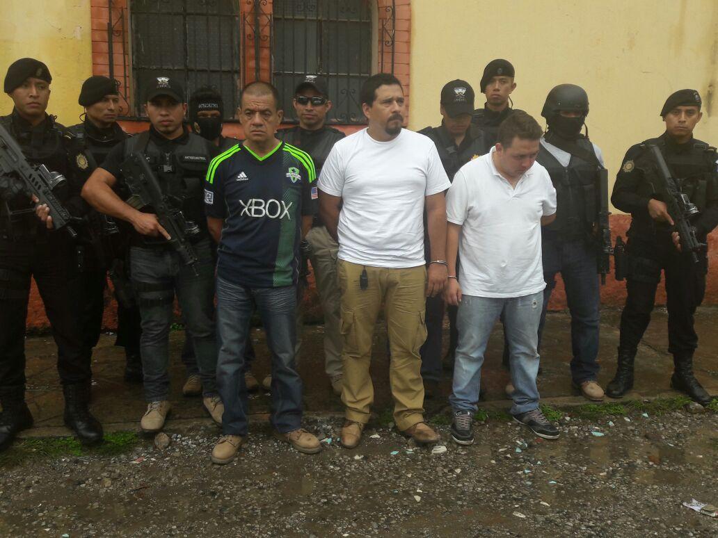 Fotogalería: capturan a tres hombres por secuestros en Honduras y Guatemala