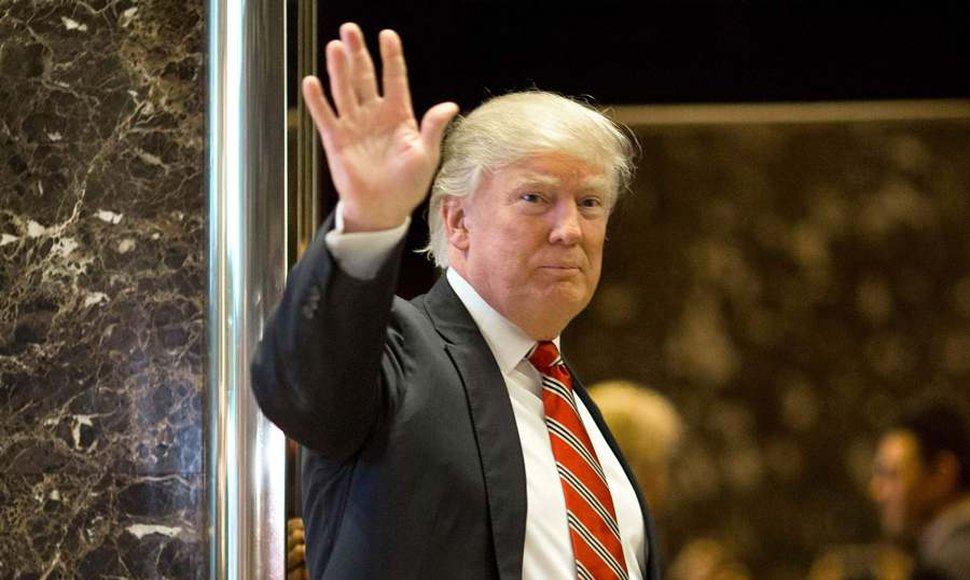 El presidente de Estados Unidos, Donald Trump,