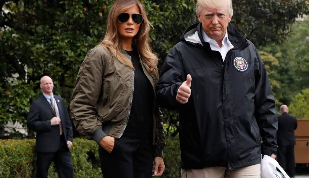 Trump viaja el jueves a Florida para constatar daños causados por Irma