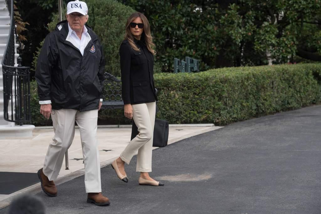 Trump visita Florida tras huracán