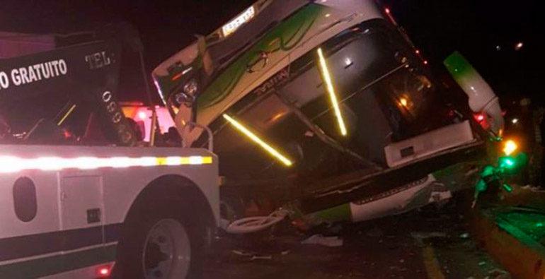 Un accidente de autobus deja 13 muertos y 28 heridos en Ecuador