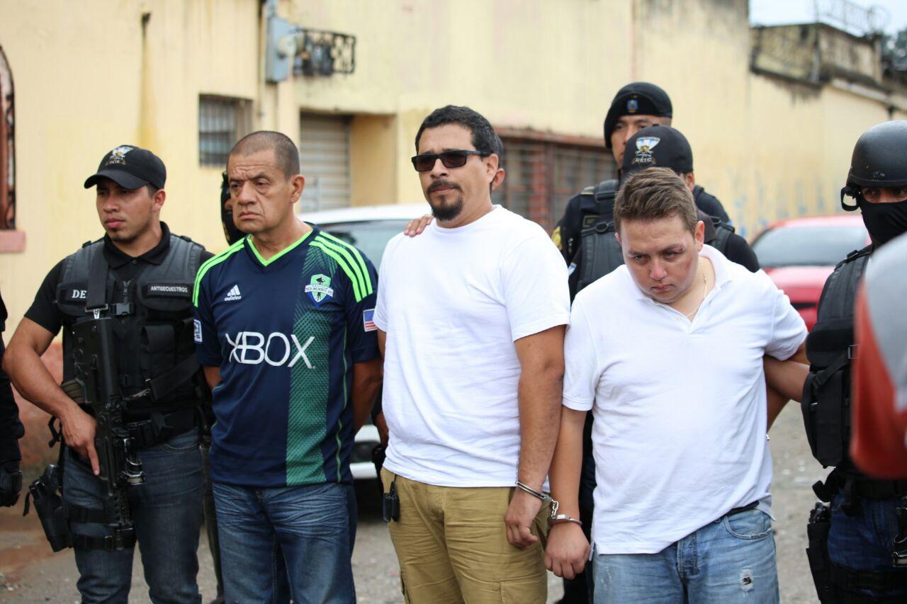 """Capturan a integrantes de banda de secuestradores """"Los catrachos"""""""