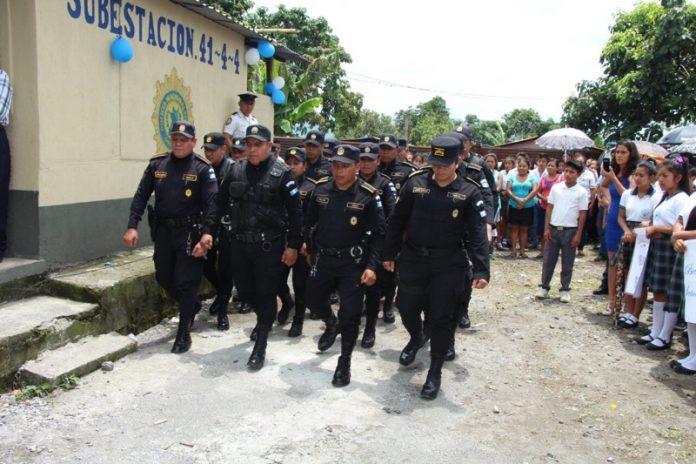 Aldea San Marcos de Palajunoj cuenta ya con una subestación de PNC