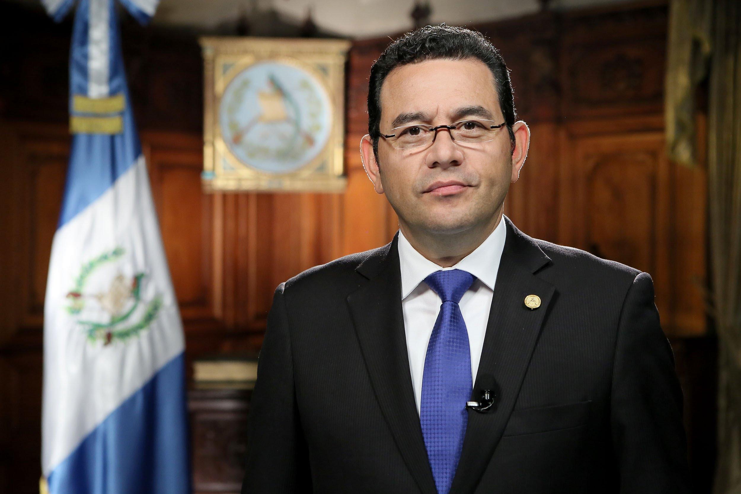 UNE apoyará retiro de inmunidad a Jimmy Morales si así lo recomienda pesquisidora