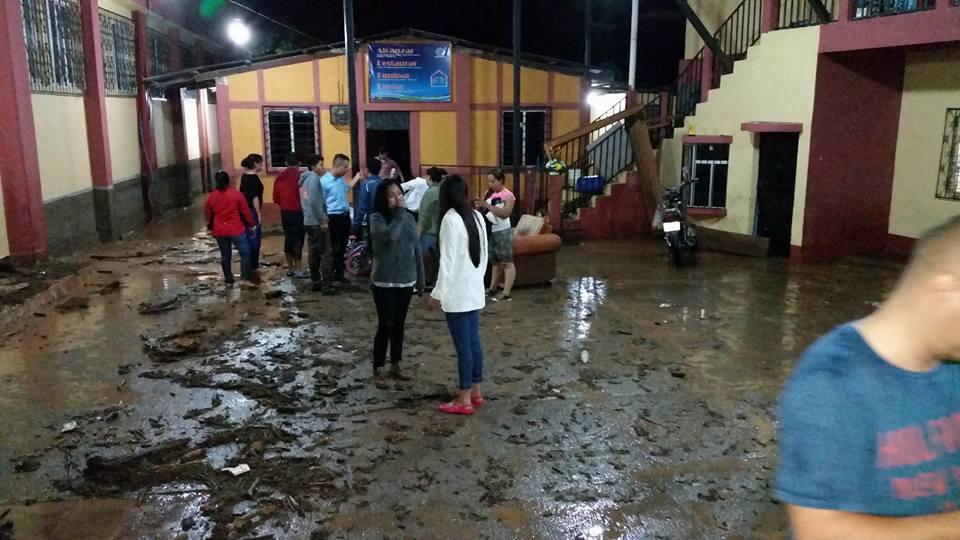 Huehuetenango: lluvias causan daños en La Democracia