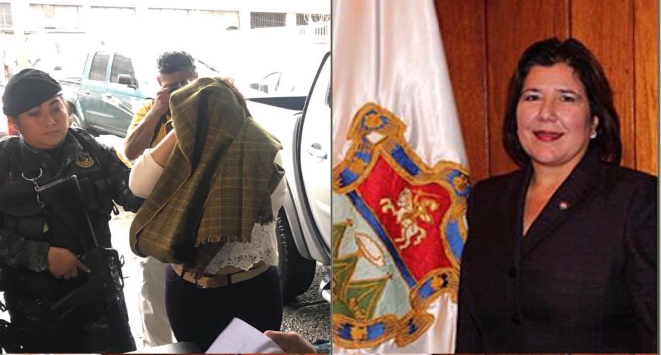 Síndico de la Municipalidad de Guatemala capturada