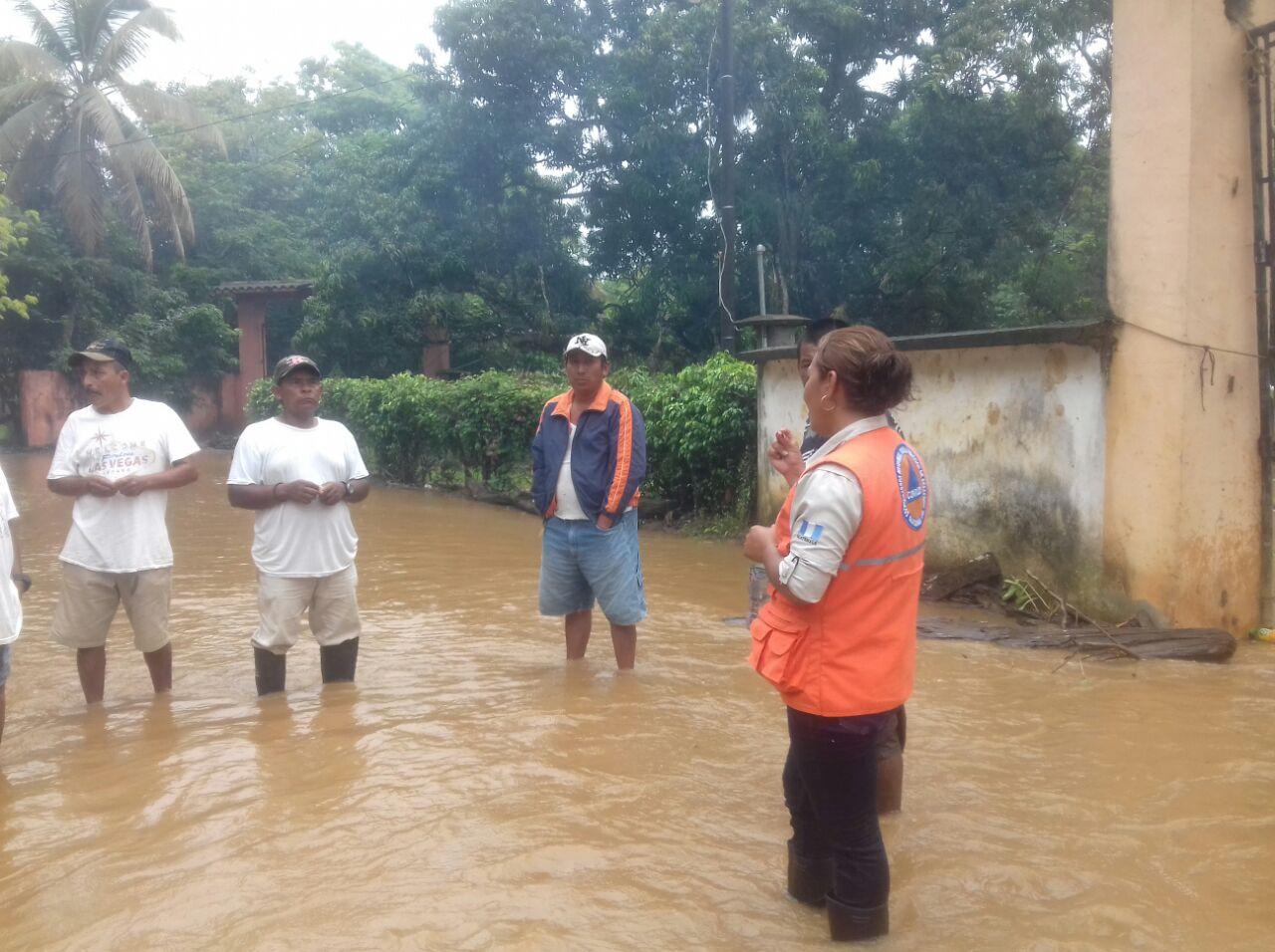 Lluvias comunidades afectadas