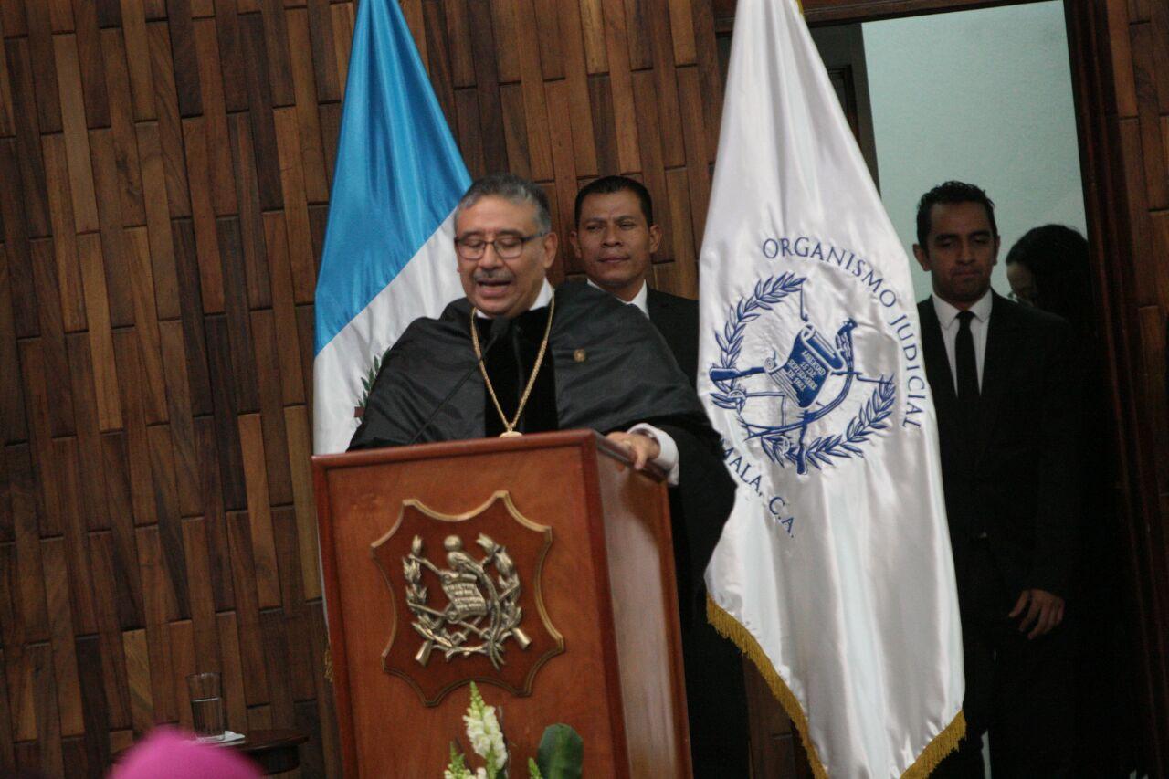 """Presidente de CSJ aboga por una justicia centrada en la """"inclusión social"""""""