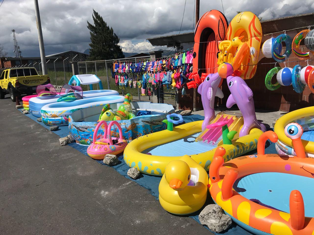 Reportan bajas en la venta de piscinas durante descanso prolongado