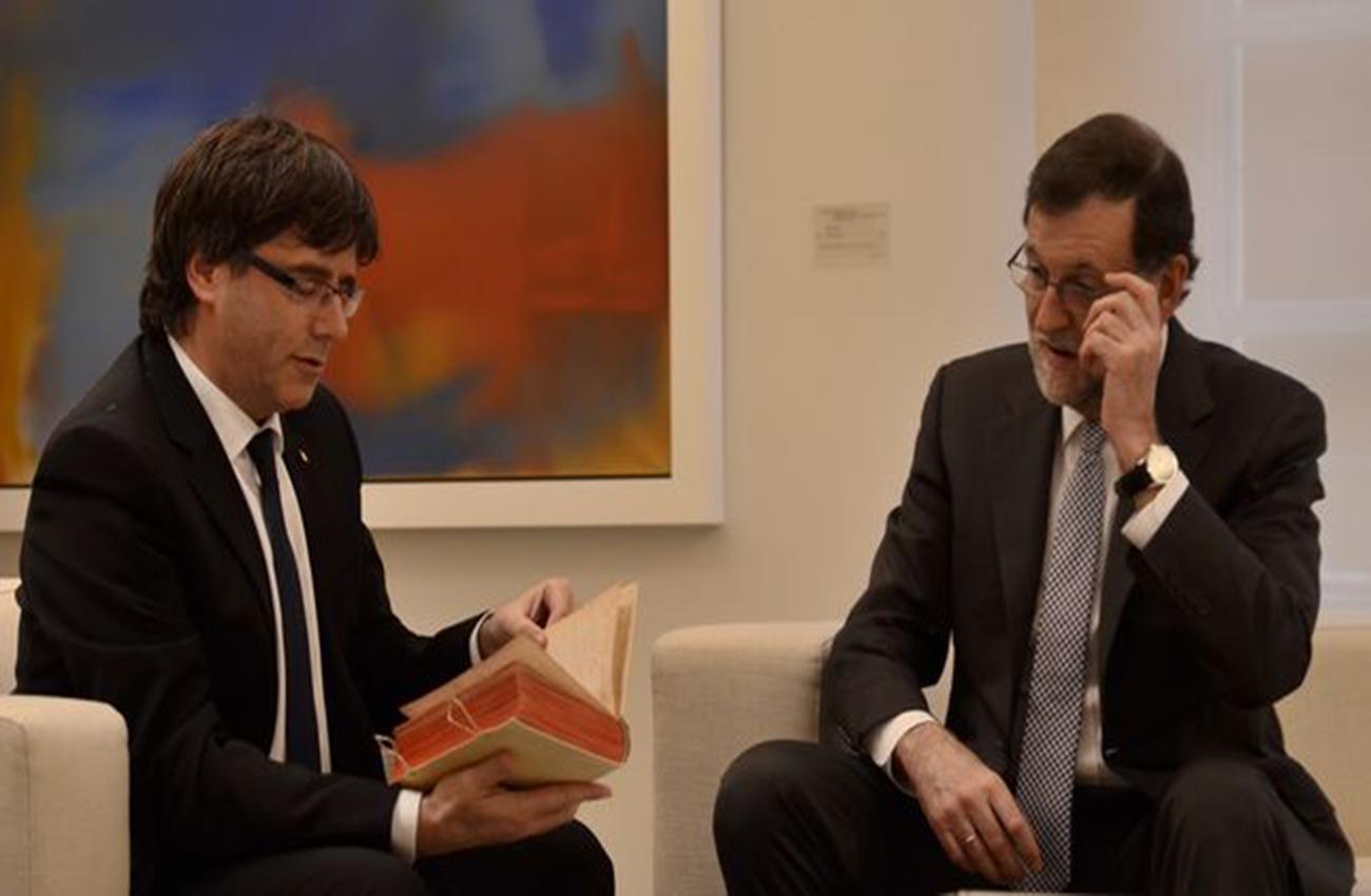 Crisis en Cataluña puntos clave de correspondencia entre Rajoy y Puigdemont