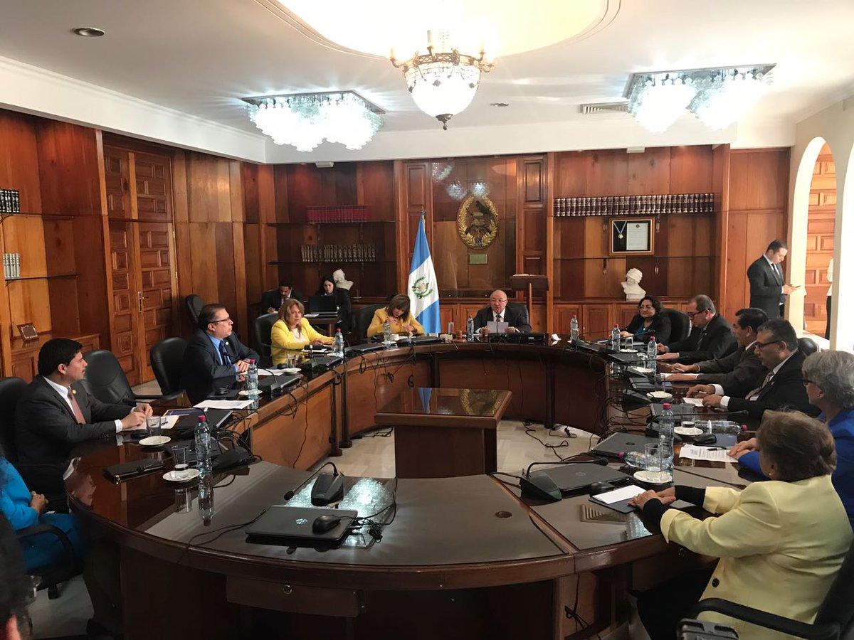 CSJ elección de presidente del OJ
