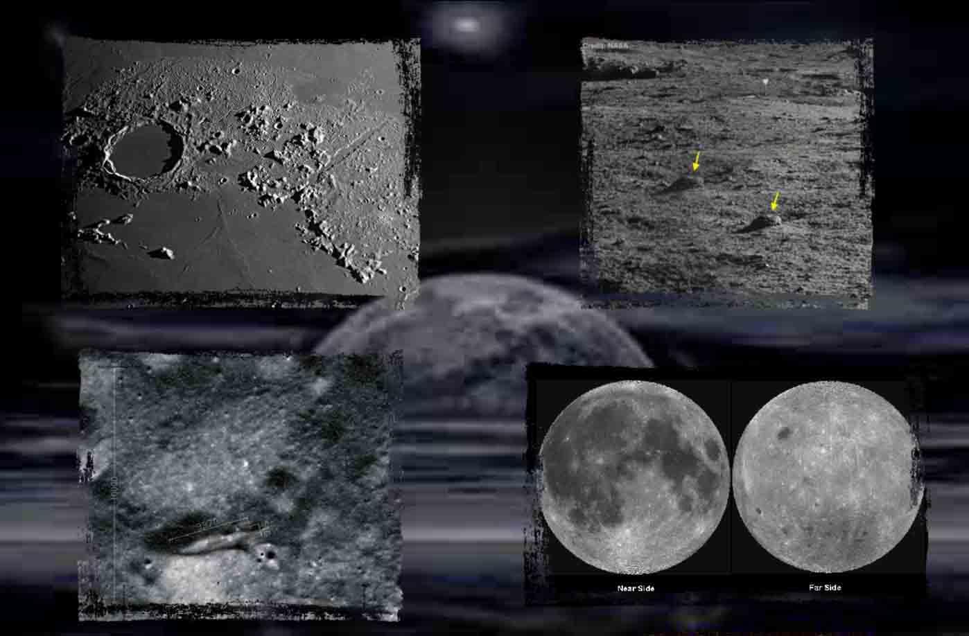 Descubierta una cueva gigante en la Luna