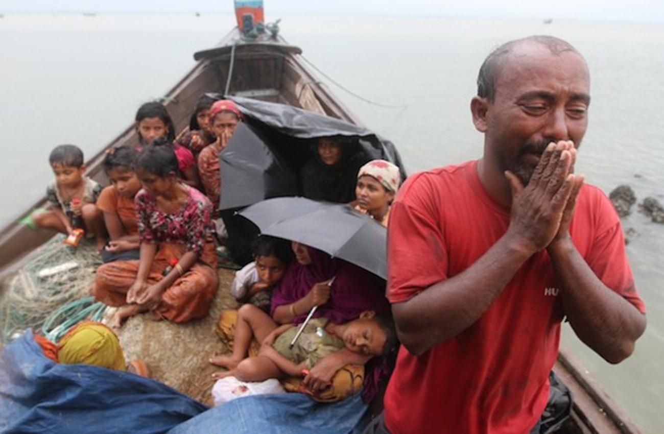 El hambre como arma de guerra contra los rohinyás en Birmania