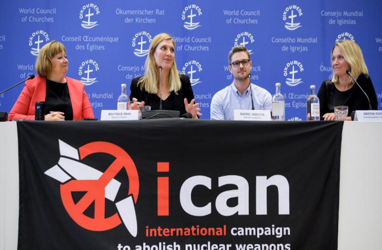 El premio Nobel de la Paz al ICAN, ¿un mensaje a Trump?