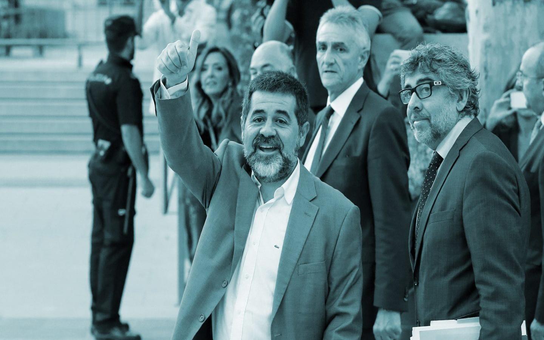 Fiscalía pide prisión preventiva para líder independentista catalán